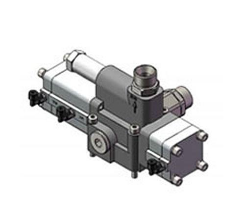 hxf33q-e20l-4三位三通4孔单溢流慢降气控换向阀-hxf图片